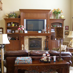Entertainment Center/Fireplace