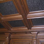 Ceiling and Wall Panels with Hidden Door